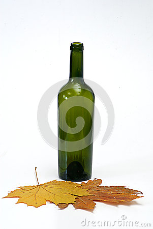 Bottle with  cork