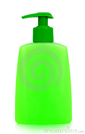 Bottle with cosmetic product