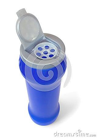 Bottle of detergent powder