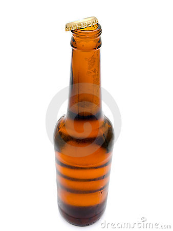 Bottle of fresh beer