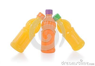 Bottle of fresh fruit