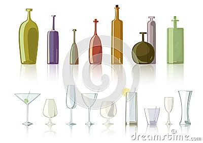 Bottle glasses