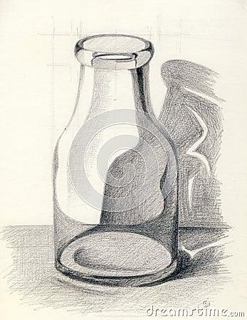 A Bottle Stock Image - Image: 31041431