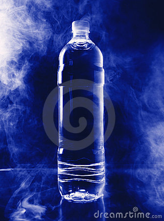 Free Bottle In A Smoke Enviroment Royalty Free Stock Photo - 1657565