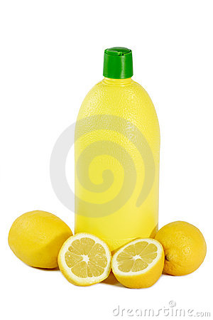 A Bottle Lemon concentrate