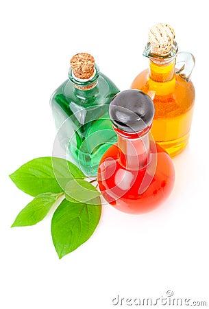 Bottle of liqueur / alcohol