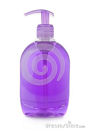 Bottle of liquid soap
