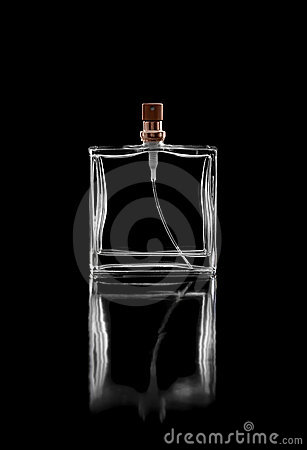 Bottle of man's cologne Stock Photo