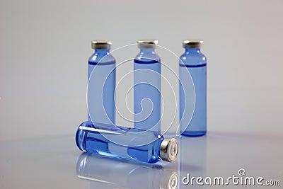 Bottle of medicine