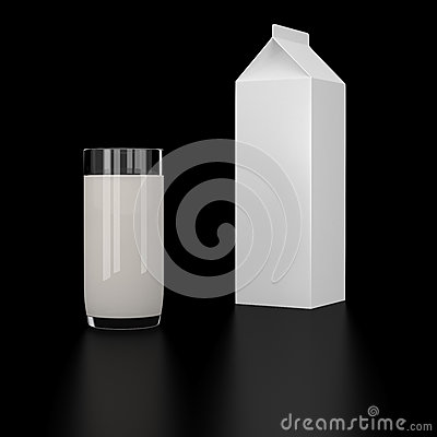 Bottle and Milk glass