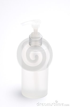 A bottle with nozzle