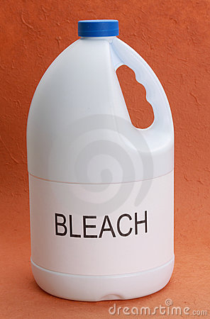 Free Bottle Of Bleach Royalty Free Stock Image - 7489576