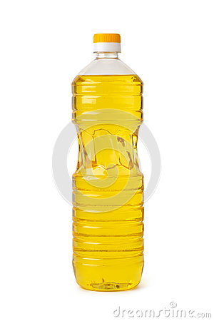 Free Bottle Of Cooking Oil Stock Photography - 9995482