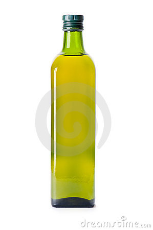 Free Bottle Of Olive Oil Royalty Free Stock Photo - 16653085