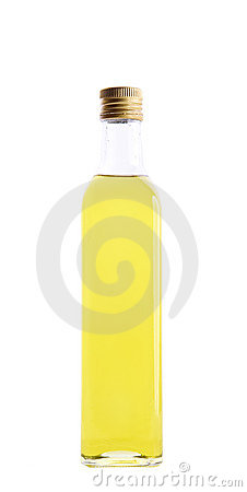 Free Bottle Of Olive Oil Stock Photos - 16721293