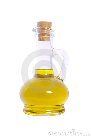 Free Bottle Of Olive Oil Isolated On White Background Stock Photos - 14687233