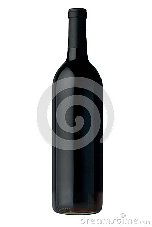Free Bottle Of Red Wine Stock Image - 9983971