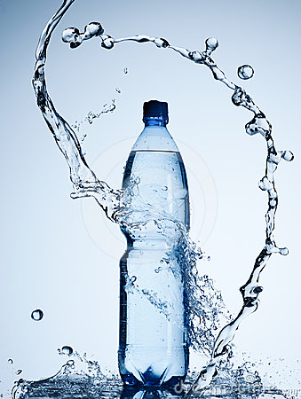 Free Bottle Of Water Royalty Free Stock Images - 24496329