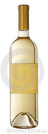 Free Bottle Of White Wine Stock Photography - 6990372