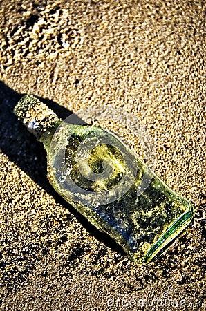 Bottle in Sand