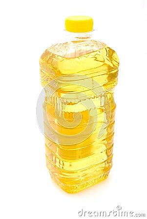 Free Bottle Sunflower Oil Royalty Free Stock Images - 12201279