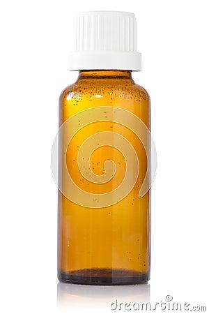 Bottle of syrup medication