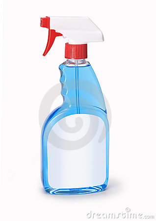 Free Bottle Windex Window Cleaner Royalty Free Stock Photography - 7293427
