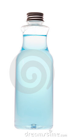 Free Bottle With A Blue Liquid Stock Photo - 20906330
