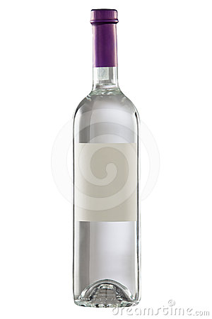 Free Bottle With Blank Label. Royalty Free Stock Photography - 24280777