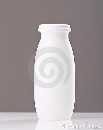 Bottle of yogurt