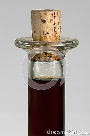 Bottleneck and cork