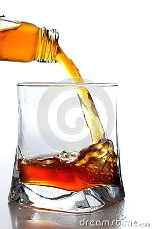 Bottleneck and whiskey