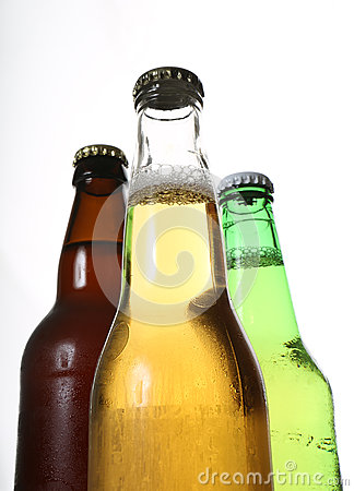 Bottles Of Beer Stock Photography - Image: 25707532
