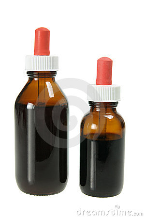 Bottles of Herbal Medicine