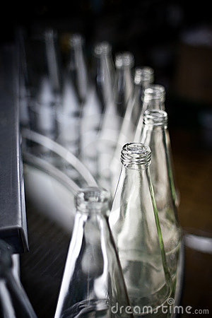 Free Bottles In A Row Royalty Free Stock Photography - 13839637