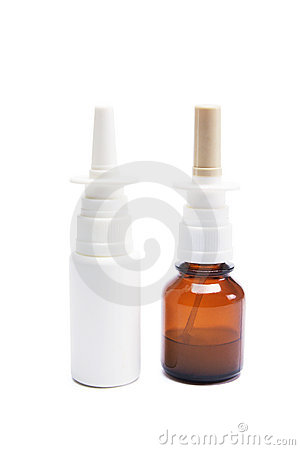 Bottles of Nasal Spray