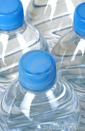 Free Bottles Of Water Stock Photography - 4866112