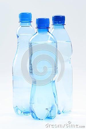 Free Bottles Of Water Royalty Free Stock Photo - 5804775