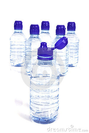 Free Bottles Of Water Royalty Free Stock Images - 9911729