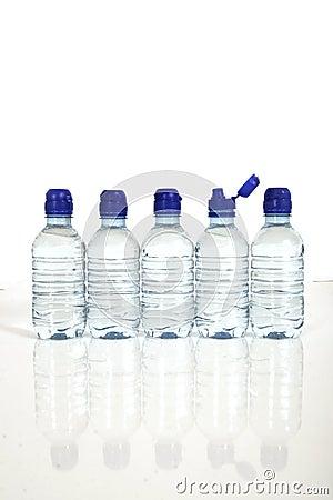 Free Bottles Of Water Royalty Free Stock Photos - 9934448