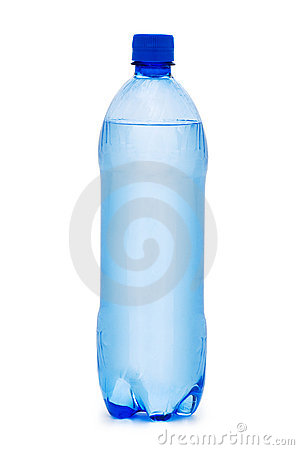 Free Bottles Of Water Isolated Stock Photo - 10471150