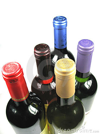 Free Bottles Of Wine Stock Images - 6028744