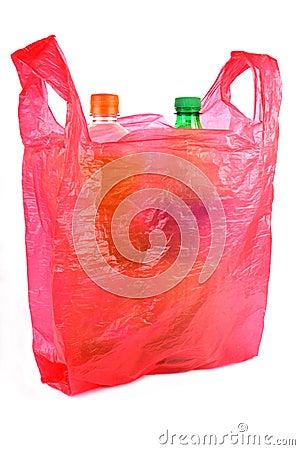 Bottles in Plastic Bag