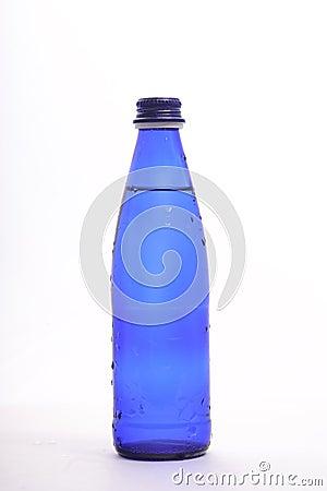 Bottles of soda water