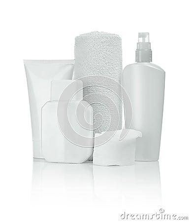 Bottles towel tube pads