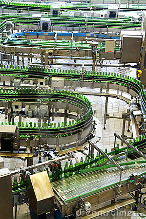 Bottling Plant Editorial Photo