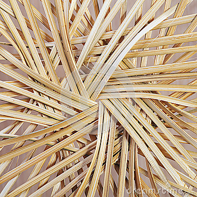Free Bottom Of Straw Basket Stock Images - 26743544
