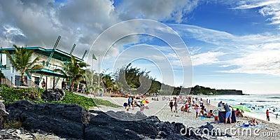 Boucan Canot Beach, Reunion