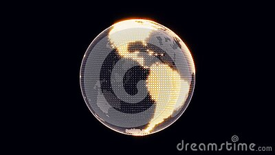 Boucle de création du monde illustration libre de droits