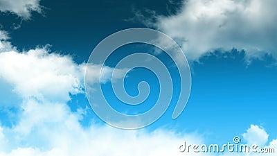 Boucle 01 de nuages illustration stock